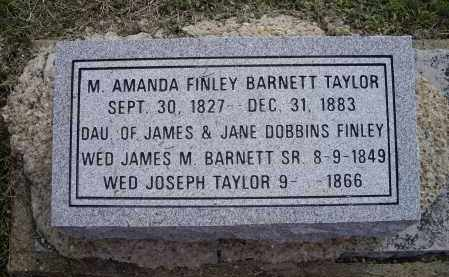 BARNETT, MARGARET AMANDA - Lawrence County, Arkansas | MARGARET AMANDA BARNETT - Arkansas Gravestone Photos