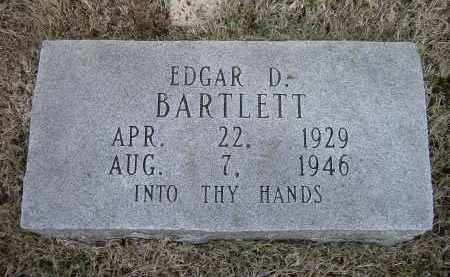 BARTLETT, EDGAR D. - Lawrence County, Arkansas | EDGAR D. BARTLETT - Arkansas Gravestone Photos