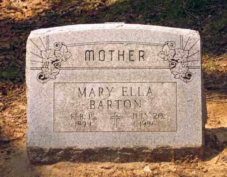 BARTON, MARY ELLA - Lawrence County, Arkansas | MARY ELLA BARTON - Arkansas Gravestone Photos