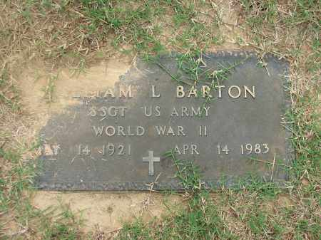 BARTON (VETERAN WWII), WILLIAM L. - Lawrence County, Arkansas | WILLIAM L. BARTON (VETERAN WWII) - Arkansas Gravestone Photos