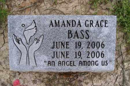 BASS, AMANDA GRACE - Lawrence County, Arkansas | AMANDA GRACE BASS - Arkansas Gravestone Photos