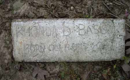 BASS, RHONDA DARLENE - Lawrence County, Arkansas | RHONDA DARLENE BASS - Arkansas Gravestone Photos