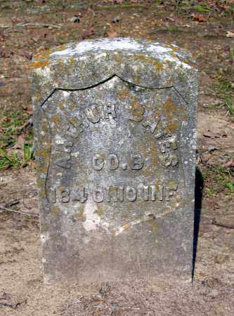 BATES (VETERAN UNION), ARTHUR - Lawrence County, Arkansas   ARTHUR BATES (VETERAN UNION) - Arkansas Gravestone Photos
