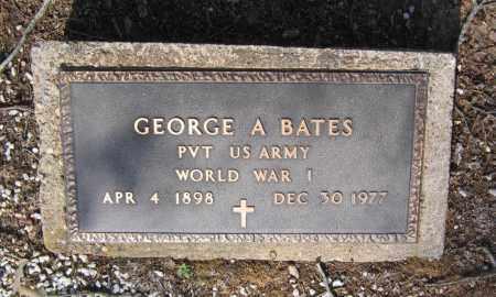 BATES (VETERAN WWI), GEORGE ANGUS - Lawrence County, Arkansas | GEORGE ANGUS BATES (VETERAN WWI) - Arkansas Gravestone Photos