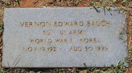 BAUCH (VETERAN 2 WARS), VERNON EDWARD - Lawrence County, Arkansas   VERNON EDWARD BAUCH (VETERAN 2 WARS) - Arkansas Gravestone Photos