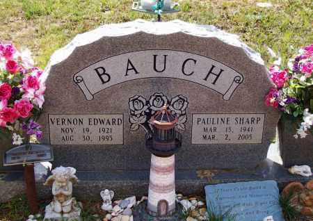 BAUCH, VERNON EDWARD - Lawrence County, Arkansas | VERNON EDWARD BAUCH - Arkansas Gravestone Photos