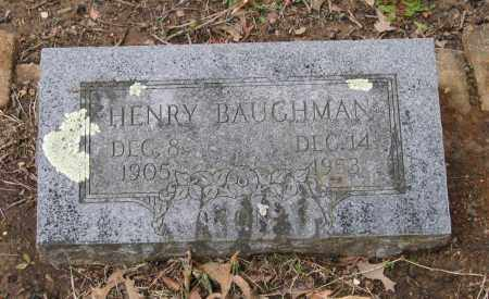 BAUGHMAN, HENRY - Lawrence County, Arkansas | HENRY BAUGHMAN - Arkansas Gravestone Photos