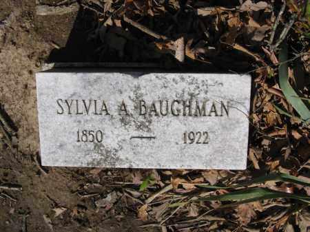 BAUGHMAN, SYLVIA A. - Lawrence County, Arkansas   SYLVIA A. BAUGHMAN - Arkansas Gravestone Photos