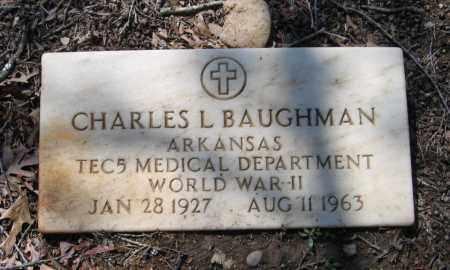 BAUGHMAN (VETERAN WWII), CHARLES L - Lawrence County, Arkansas | CHARLES L BAUGHMAN (VETERAN WWII) - Arkansas Gravestone Photos
