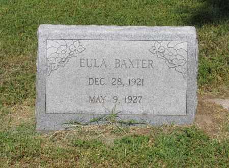 BAXTER, EULA - Lawrence County, Arkansas   EULA BAXTER - Arkansas Gravestone Photos
