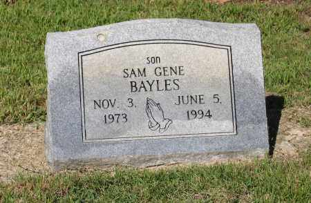 "BAYLES, SAM EUGENE ""GENE"" - Lawrence County, Arkansas 