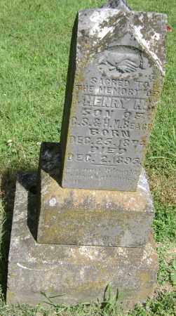 BEACH, HENRY H. - Lawrence County, Arkansas | HENRY H. BEACH - Arkansas Gravestone Photos