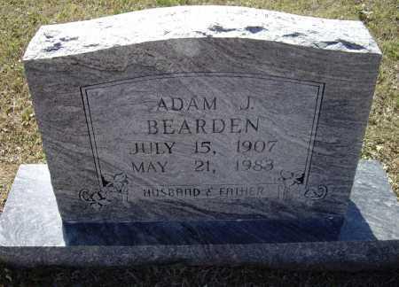 BEARDEN, ADAM J. - Lawrence County, Arkansas   ADAM J. BEARDEN - Arkansas Gravestone Photos