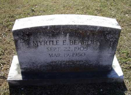 BEARDEN, MYRTLE E. - Lawrence County, Arkansas | MYRTLE E. BEARDEN - Arkansas Gravestone Photos