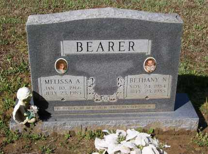 BEARER, MELISSA - Lawrence County, Arkansas | MELISSA BEARER - Arkansas Gravestone Photos