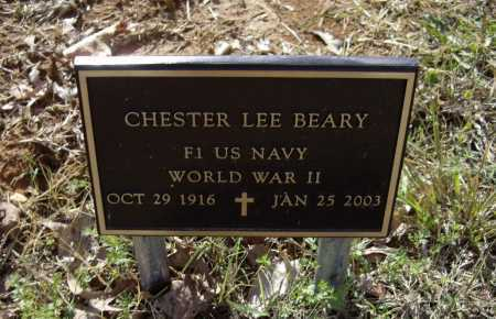 BEARY (VETERAN WWII), CHESTER LEE - Lawrence County, Arkansas | CHESTER LEE BEARY (VETERAN WWII) - Arkansas Gravestone Photos