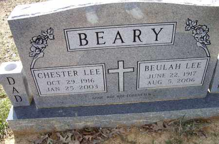 BEARY, CHESTER LEE - Lawrence County, Arkansas | CHESTER LEE BEARY - Arkansas Gravestone Photos