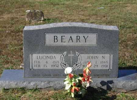 "BEARY, LUCINDA DORCAS ""DARKNESS"" - Lawrence County, Arkansas 