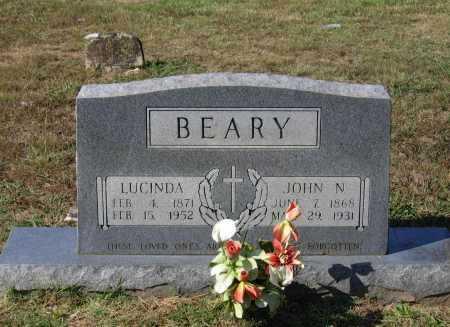 BEARY, JOHN NICHOLAS - Lawrence County, Arkansas | JOHN NICHOLAS BEARY - Arkansas Gravestone Photos