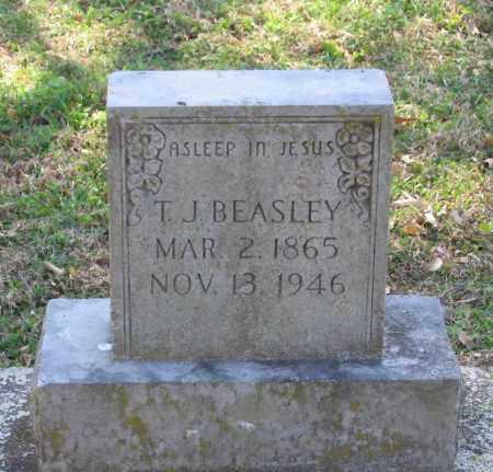 "BEASLEY, THOMAS JEFFERSON  ""T. J."" - Lawrence County, Arkansas | THOMAS JEFFERSON  ""T. J."" BEASLEY - Arkansas Gravestone Photos"