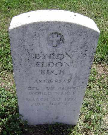 BECK (VETERAN WWI), BYRON ELDON - Lawrence County, Arkansas   BYRON ELDON BECK (VETERAN WWI) - Arkansas Gravestone Photos