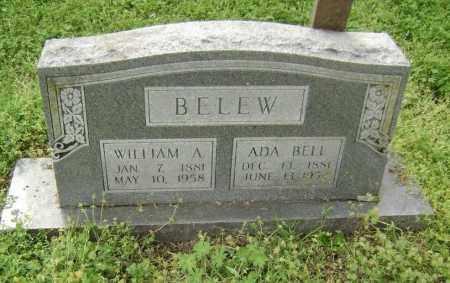 BELEW, WILLIAM A. - Lawrence County, Arkansas | WILLIAM A. BELEW - Arkansas Gravestone Photos
