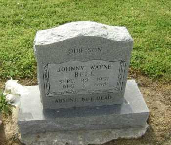 BELL, JOHNNY WAYNE - Lawrence County, Arkansas | JOHNNY WAYNE BELL - Arkansas Gravestone Photos