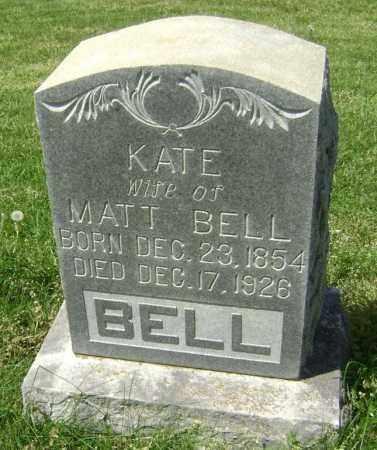 BELL, KATE - Lawrence County, Arkansas   KATE BELL - Arkansas Gravestone Photos