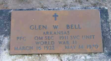 BELL (VETERAN WWII), GLEN WILLIAM - Lawrence County, Arkansas | GLEN WILLIAM BELL (VETERAN WWII) - Arkansas Gravestone Photos