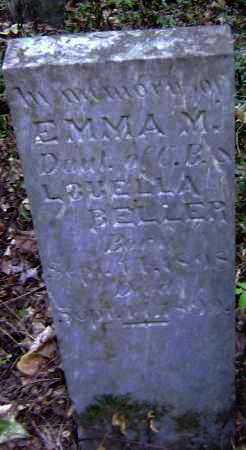 BELLER, EMMA M. - Lawrence County, Arkansas | EMMA M. BELLER - Arkansas Gravestone Photos