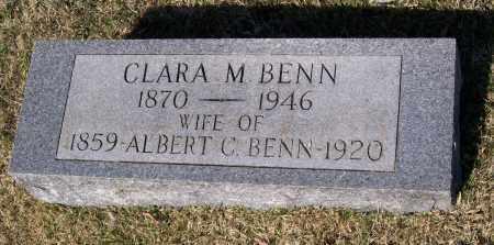 BENN, CLARA MALVERN - Lawrence County, Arkansas | CLARA MALVERN BENN - Arkansas Gravestone Photos