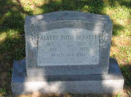 BENNETT, ALBERT BOYD - Lawrence County, Arkansas | ALBERT BOYD BENNETT - Arkansas Gravestone Photos