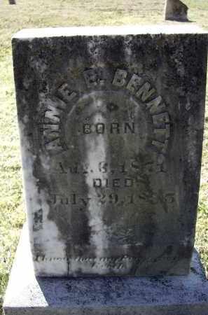 BENNETT, ANNIE E. - Lawrence County, Arkansas | ANNIE E. BENNETT - Arkansas Gravestone Photos