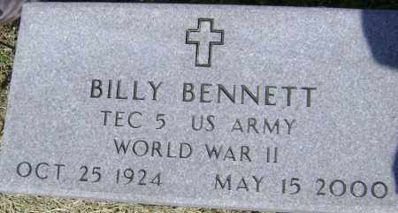 BENNETT (VETERAN WWII), BILLY - Lawrence County, Arkansas | BILLY BENNETT (VETERAN WWII) - Arkansas Gravestone Photos