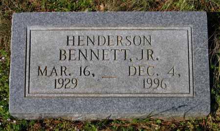 BENNETT, JR., HENDERSON - Lawrence County, Arkansas | HENDERSON BENNETT, JR. - Arkansas Gravestone Photos