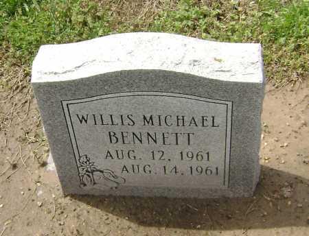 BENNETT, WILLIS MICHAEL - Lawrence County, Arkansas | WILLIS MICHAEL BENNETT - Arkansas Gravestone Photos