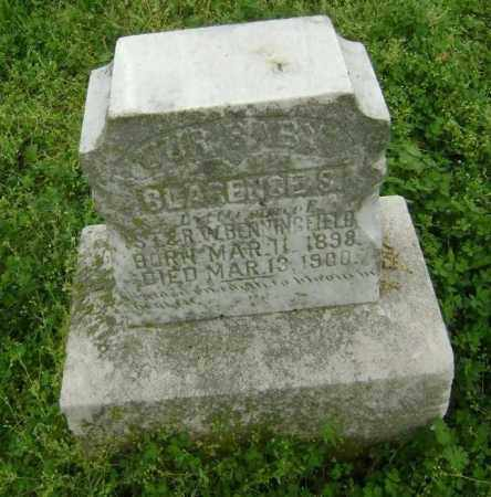 BENNINGFIELD, CLARENCE S. - Lawrence County, Arkansas   CLARENCE S. BENNINGFIELD - Arkansas Gravestone Photos