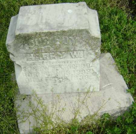 BENNINGFIELD, HARRY W. - Lawrence County, Arkansas | HARRY W. BENNINGFIELD - Arkansas Gravestone Photos