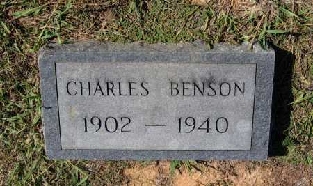BENSON, CHARLES OSCAR - Lawrence County, Arkansas | CHARLES OSCAR BENSON - Arkansas Gravestone Photos