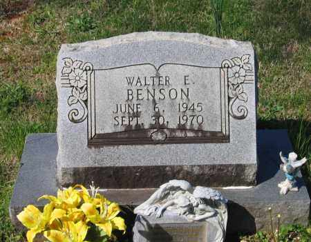 BENSON, WALTER EDWARD - Lawrence County, Arkansas | WALTER EDWARD BENSON - Arkansas Gravestone Photos