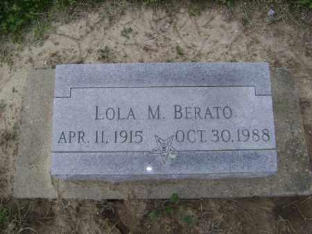 BERATO, LOLA M. - Lawrence County, Arkansas | LOLA M. BERATO - Arkansas Gravestone Photos