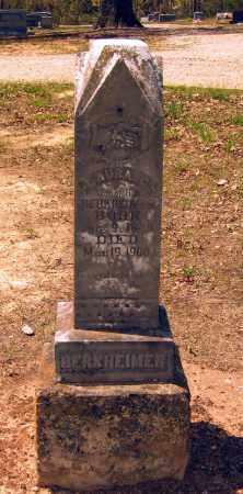 BERKHEIMER, LAURA C. - Lawrence County, Arkansas | LAURA C. BERKHEIMER - Arkansas Gravestone Photos