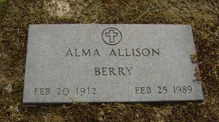 ALLISON, ALMA JUNE - Lawrence County, Arkansas   ALMA JUNE ALLISON - Arkansas Gravestone Photos
