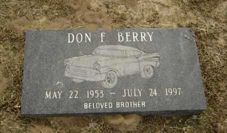 BERRY, DON F. - Lawrence County, Arkansas | DON F. BERRY - Arkansas Gravestone Photos