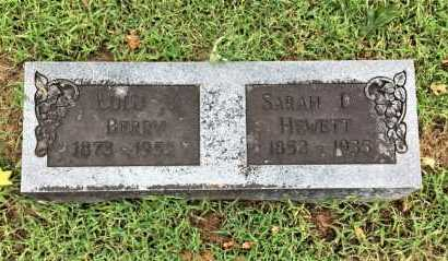 HEWETT, SARAH E. - Lawrence County, Arkansas | SARAH E. HEWETT - Arkansas Gravestone Photos