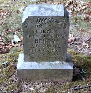 BERRY, THOMAS Q. - Lawrence County, Arkansas   THOMAS Q. BERRY - Arkansas Gravestone Photos