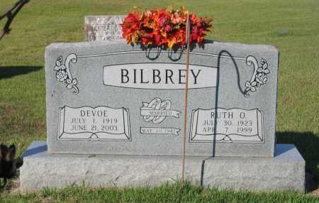 BILBREY, DEVOE - Lawrence County, Arkansas | DEVOE BILBREY - Arkansas Gravestone Photos