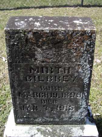 BILBREY, MIRTH - Lawrence County, Arkansas | MIRTH BILBREY - Arkansas Gravestone Photos