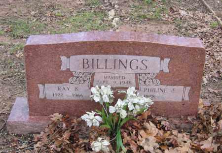 BILLINGS, RAY B. JESSE - Lawrence County, Arkansas | RAY B. JESSE BILLINGS - Arkansas Gravestone Photos