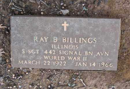 BILLINGS (VETERAN WWII), RAY B. JESSE - Lawrence County, Arkansas | RAY B. JESSE BILLINGS (VETERAN WWII) - Arkansas Gravestone Photos